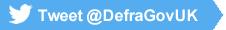 Tweet @DefraGovUK