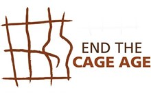 End the Cage Age campaign logo